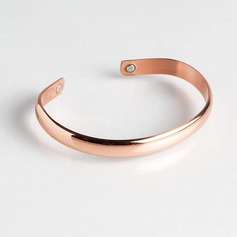 Magnetic Cuff Bracelet - Copper Band (722) Full Size Image #1
