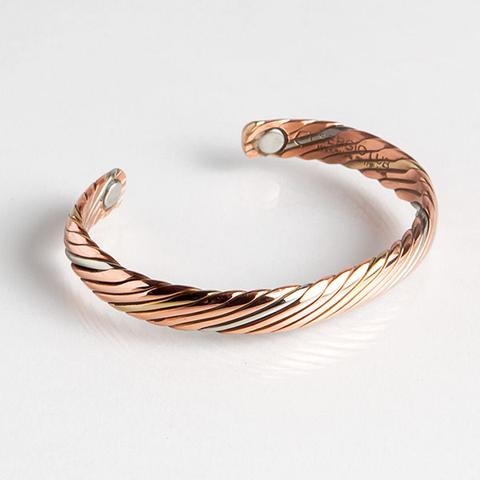 Magnetic Cuff Bracelet - Copper Sailor (745L) Full Size Image #1