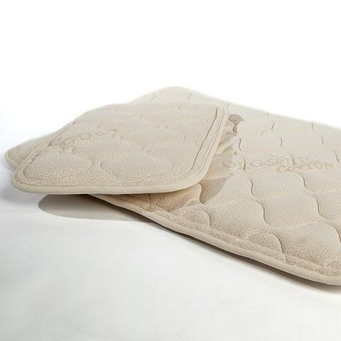 All Natural Cotton Magnetic Mattress Pad Full Size Image #1