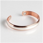 Magnetic Cuff Bracelet - Two Worlds (748L) Thumbnail #1