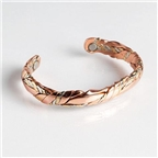 Magnetic Cuff Bracelet - Copper Sage Shiny (768) Thumbnail #1